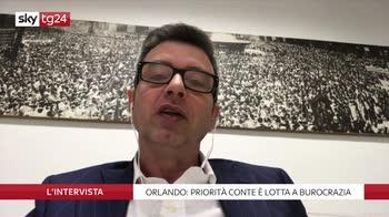 Orlando ospite de L'intervista di Maria Latella