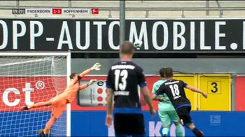 paderborn hoffenheim 1 1 gol con replay errore difensore_0619521