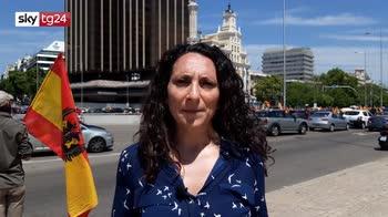 Spagna, ultradestra Vox manifesta contro Governo