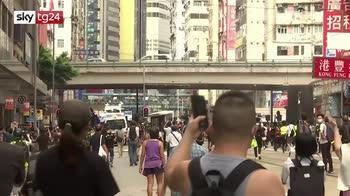 ERROR! Manifestazioni a Honk kong, esplode di nuovo la protesta contro la Cina