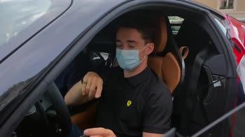 Ferrari, dietro le quinte del corto girato con Leclerc