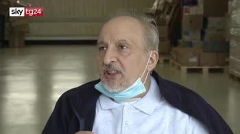 Coronavirus, torna a casa paziente di Bergamo curato a Roma