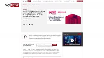 Milano Digital Week, Zanardi: oltre 500 eventi
