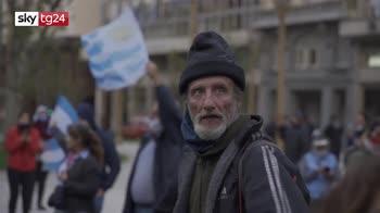 Argentina, protesta per richiedere fine lockdown