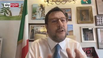 Salvini: grazie ai senatori che hanno votato liberamente