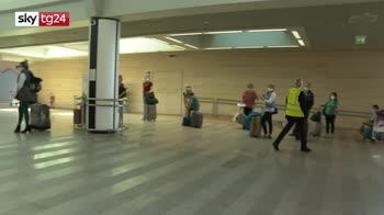 Coronavirus, a bordo degli aerei distanziamento fisico tra passeggeri