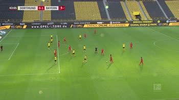 42'-43' feed borussia dortmund-bayern: gol di Kimmich