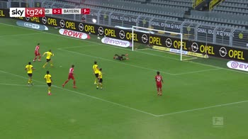 Bundesliga, Borussia Dortmund-Bayern Monaco 0-1