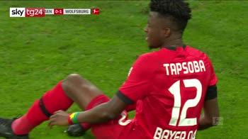 Bundesliga, Bayer Leverkusen-Wolfsburg 1-4