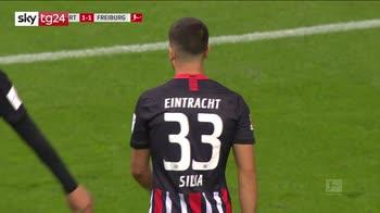 Bundesliga, Eintracht-Friburgo 3-3