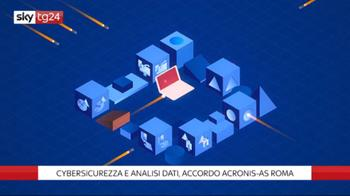 ++NOW Cybersicurezza e analisi dati, accordo Acronis-AS Roma