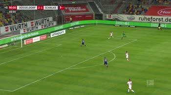 WARN! - fortuna duss-schalke, 93' portiere in attacco rischia il gol dietro