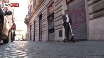 A Roma arrivano i monopattini elettrici Helbiz