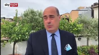 Zingaretti: soldi da Ue grande vittoria italiana
