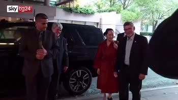 Caso Huawei, Meng resta agli arresti domiciliari