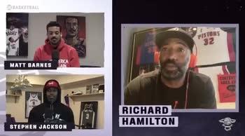 """NBA, Hamilton: """"MJ e il compagno scambiato dopo le offese"""""""