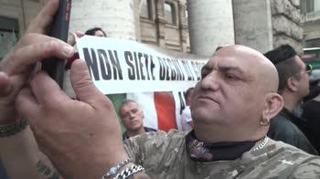 Manifestazione a Roma: il video delle proteste