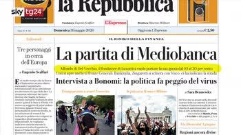 Rassegna stampa: i giornali di oggi domenica 31 maggio