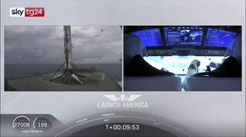 Crew Dragon, partita storica missione Nasa-Spacex