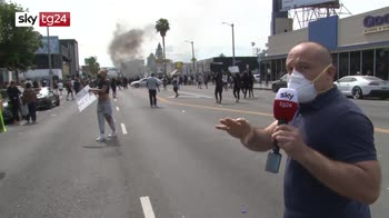 Proteste Usa, a Los Angeles dichiarato lo stato d'emergenza