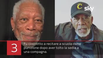 VIDEO 5 curiosità su Morgan Freeman
