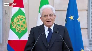 2 Giugno, Mattarella:volontà di rinascita ed economica