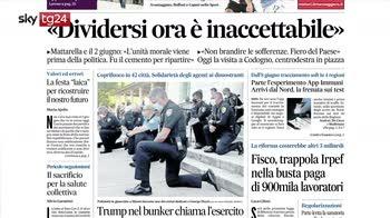 Rassegna stampa: i giornali di oggi lunedì 2 giugno