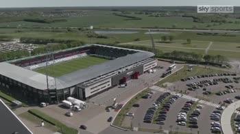 Midtjylland turn stadium into drive-through