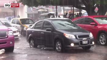 La tempesta tropicale cristobal è arrivata in Messico