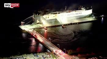 Esplosione su una nave in Florida