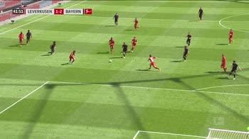 gol Bayern 2-1 minuto 42