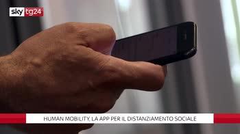 ++NOW Human Mobility, la app per il distanziamento
