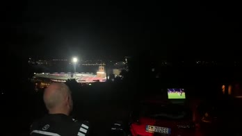 Bologna-Juve dai colli: l'idea del tifoso