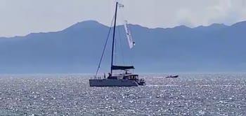 Reggina, Menez arriva a bordo del catamarano