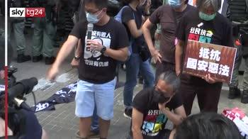 Hong Kong, proteste contro legge sicurezza