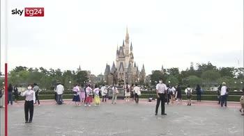 Giappone, dopo 4 mesi riapre Disneyland Tokyo