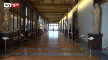 ++NOW2LUG Gli Uffizi su TikTok, l'arte in brevi video divertenti
