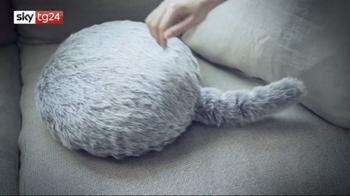 ++NOW30LUG Qoobo, il gatto-robot che funge anche da cuscino