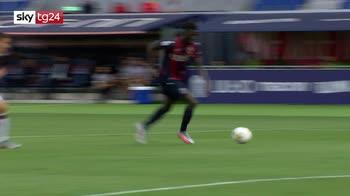 Serie A, Bologna-Cagliari 1-1
