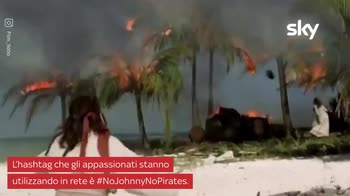 VIDEO Pirati dei Caraibi, il trend NoJohnnyNoPirates
