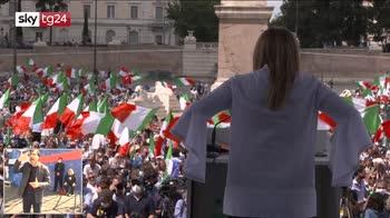 ERROR! Meloni: Italia ha bisogno di liberarsi di questo governo