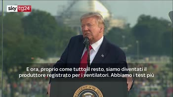ERROR! coronavirus, Trump: effettuati oltre 40 milioni di test