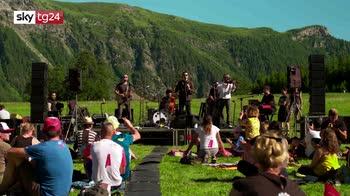 Diodato in Val D'aosta, concerto dopo il lockdown
