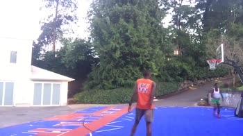 NBA, Jamal Crawford si allena con il figlio