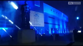Wigan fans light up club's DW Stadium