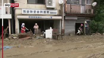 Giappone inondazioni, oltre 30 morti