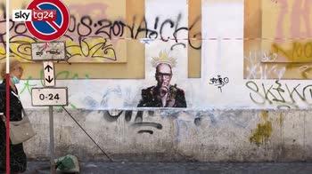Roma, murales per Morricone