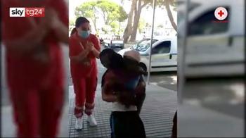 Migranti, a 6 anni ritrova la mamma nel Cara di Crotone