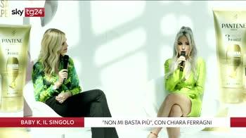 """""""Non mi basta più"""" il singolo di Baby K con Chiara Ferragni"""