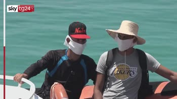 Lampedusa, proseguono gli sbarchi